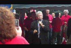 CWA v. Verizon Bargaining 2011 - June 23 Rally in Rye, NY