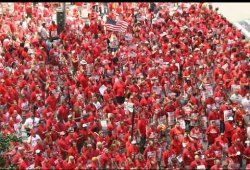 Verizon Mass Rally 7/25/2015 NYC CWA President Chris Shelton - Stand Up & Fight! Ready to strike!